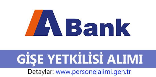 Alternatif Bank Gişe Yetkilisi Alımı 2016