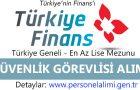 Türkiye Finans Güvenlik Görevlisi Alımı 2016