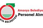 Amasya Belediyesi Personel Alımı 2017
