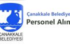 Çanakkale Belediyesi Personel Alımı 2017