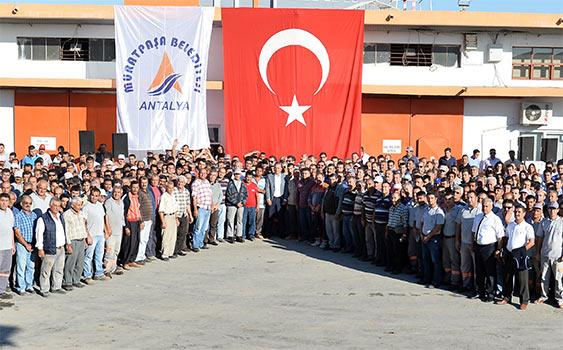 Muratpaşa Belediyesi Personel Alımı 2015