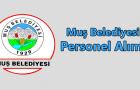 Muş Belediyesi Personel Alımı 2016