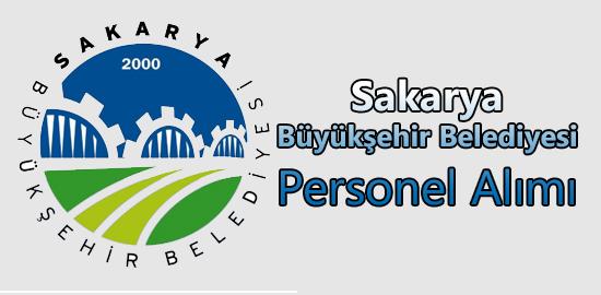 Sakarya Büyükşehir Belediyesi Personel Alımı