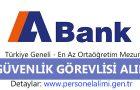 Abank Güvenlik Alımı 2016