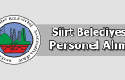 Siirt Belediyesi Personel Alımı 2016