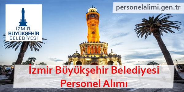İzmir Büyükşehir Belediyesi Personel Alımı