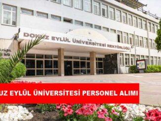 Dokuz Eylül Üniversitesi Personel Alımı ve İş İlanları