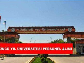 Van Yüzüncü Yıl Üniversitesi Personel Alımı ve İş İlanları