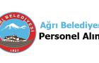 Ağrı Belediyesi Personel Alımı 2017