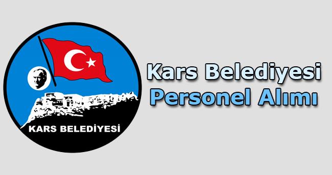 Kars Belediyesi Personel Alımı