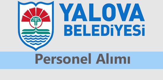 Yalova Belediyesi Personel Alımı