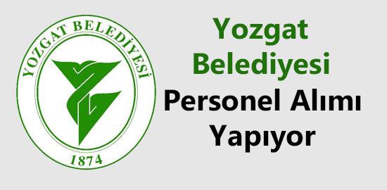Yozgat Belediyesi Personel Alımı