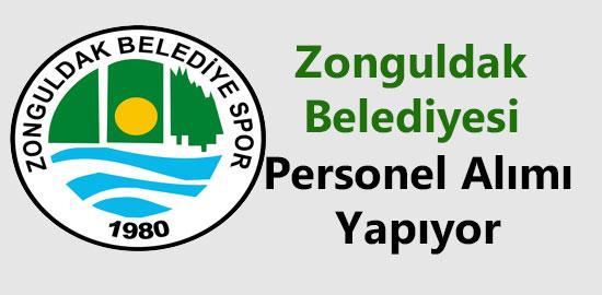 zonguldak belediyesi personel alimi
