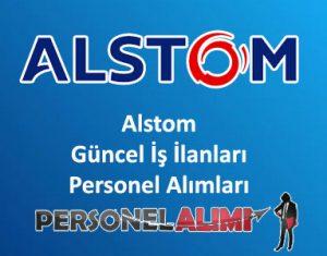 Alstom Personel Alımı ve İş İlanları