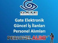 Gate Elektronik Personel Alımı ve İş İlanları