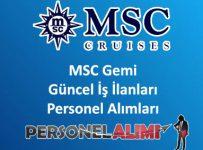 MSC Gemi Personel Alımı ve İş İlanları