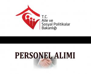 Aile ve Sosyal Politikalar Bakanlığı Uzman Yardımcılığı Alımı 2015