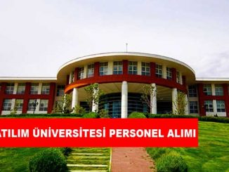 Atılım Üniversitesi Personel Alımı ve İş İlanları