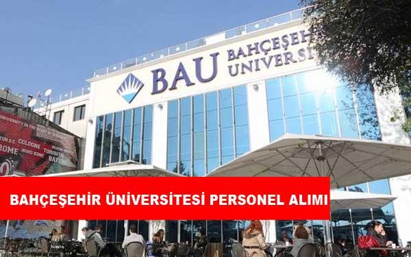 Bahçeşehir Üniversitesi Personel Alımı ve İş İlanları