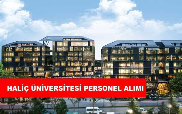 Haliç Üniversitesi Personel Alımı ve İş İlanları