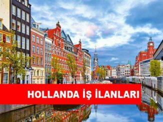 Hollanda İş İlanları ve İş İmkanları