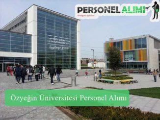Özyeğin Üniversitesi Personel Alımı ve İş İlanları