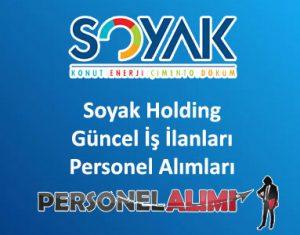 Soyak Holding Personel Alımı ve İş İlanları