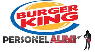 Burger King iş başvurusu