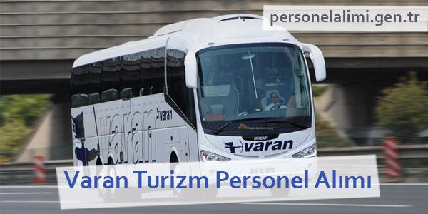 Varan Turizm Personel Alımı
