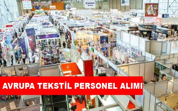 Avrupa Tekstil Personel Alımı ve İş İlanları