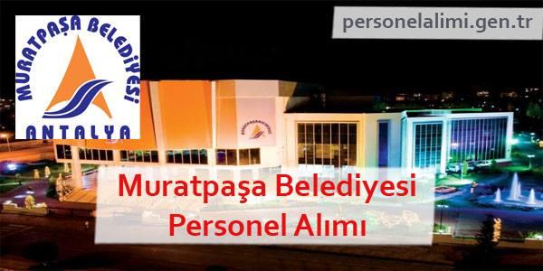 Muratpaşa Belediyesi Personel Alımı