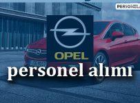 Opel Personel Alımı