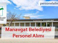 Manavgat Belediyesi Personel Alımı
