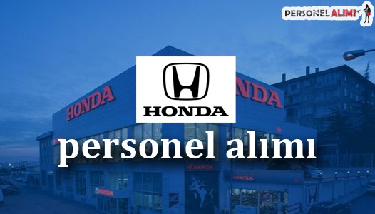 Honda Personel Alımı