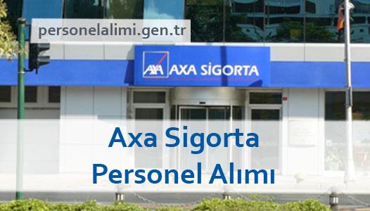 Axa Sigorta Personel Alımı