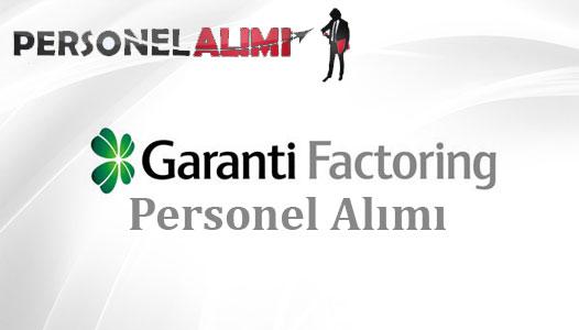 Garanti Factoring Personel Alımı