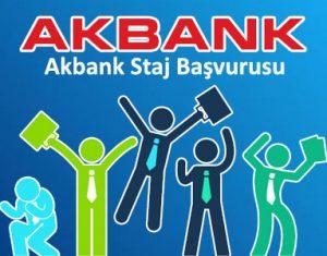 Akbank Staj Başvurusu