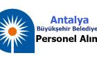 Antalya Büyükşehir Belediyesi Personel Alımı 2017