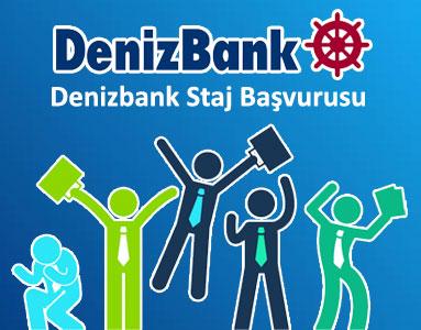 Denizbank Staj Başvurusu