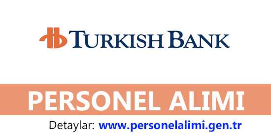 Turkish Bank Personel Alımı