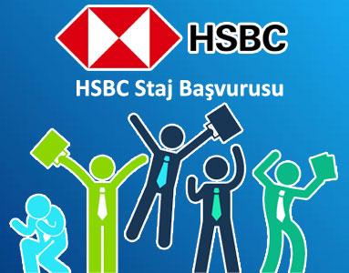 HSBC Staj Başvurusu