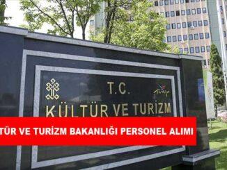 Kültür ve Turizm Bakanlığı Personel Alımı ve İş İlanları