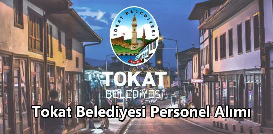 Tokat Belediyesi Personel Alımı