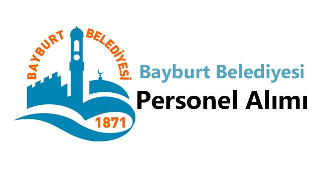 Bayburt Belediyesi Personel Alımı