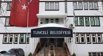 Tunceli belediyesi işçi alımı