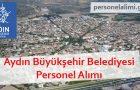 Aydın Büyükşehir Belediyesi Personel Alımı 2017