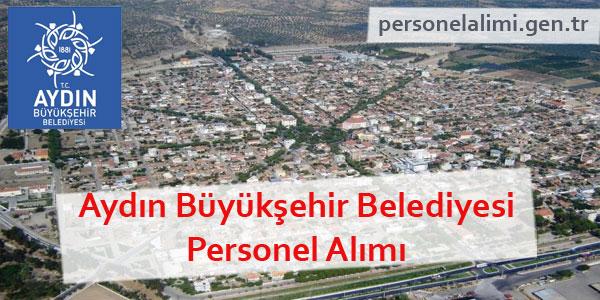Aydın Büyükşehir Belediyesi Personel Alımı