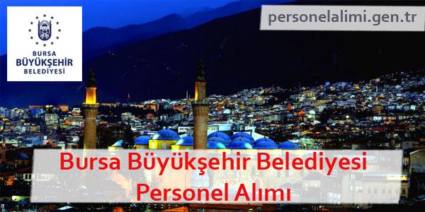 Bursa Büyükşehir Belediyesi Personel Alımı