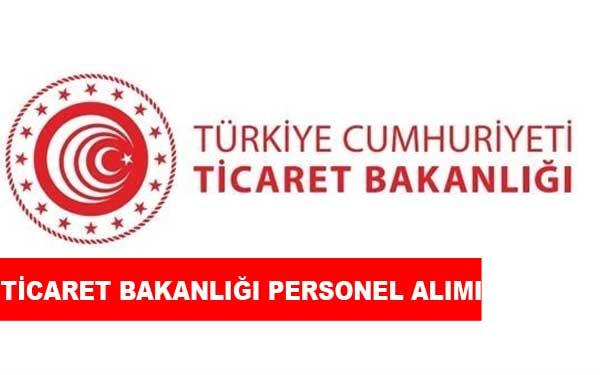Ticaret Bakanlığı Personel Alımı ve İş İlanları