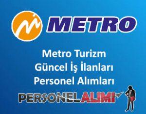 Metro Turizm Personel Alımı ve İş İlanları